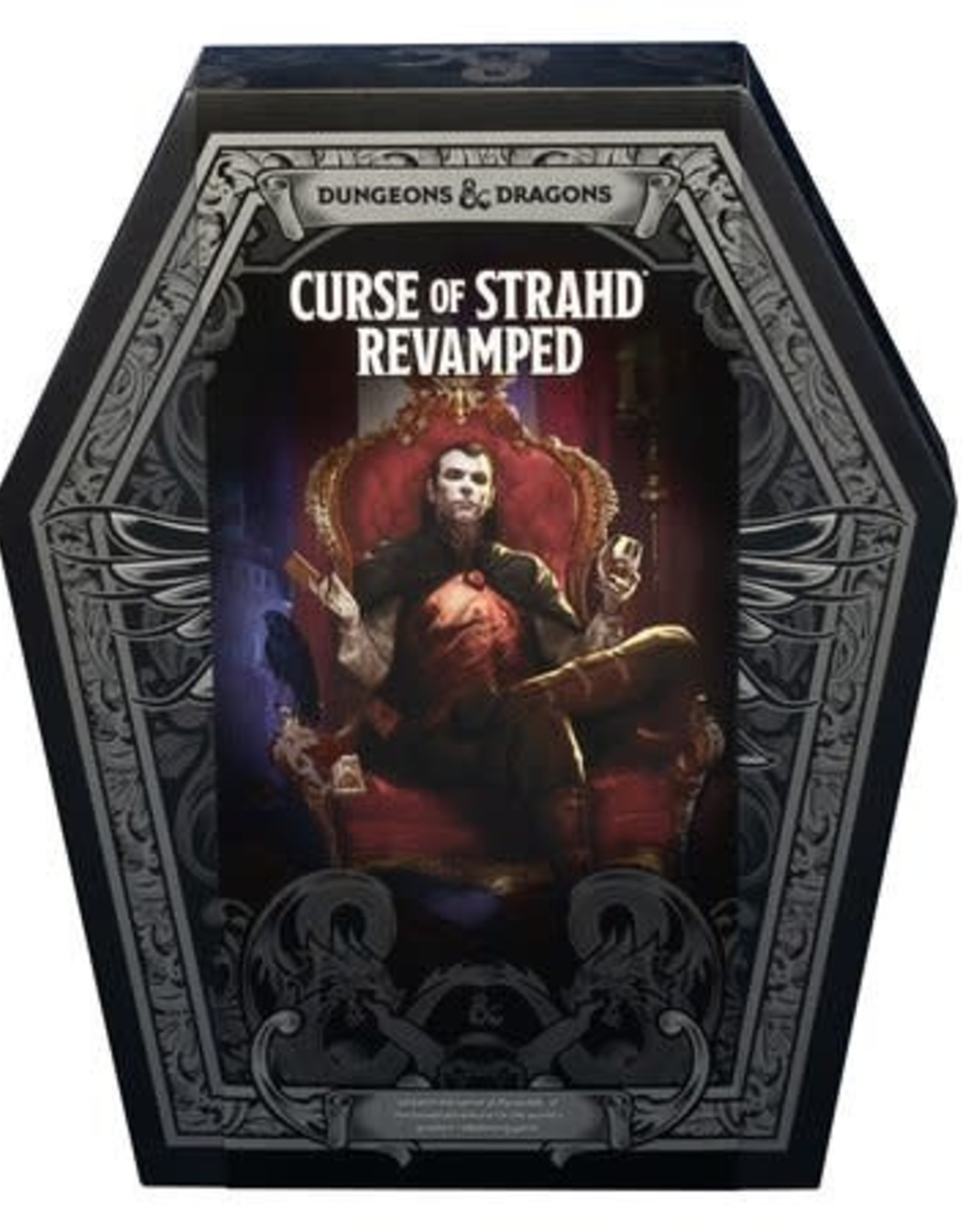 Wizards of the Coast D&D 5th: Curse of Strahd Revamped [preorder]