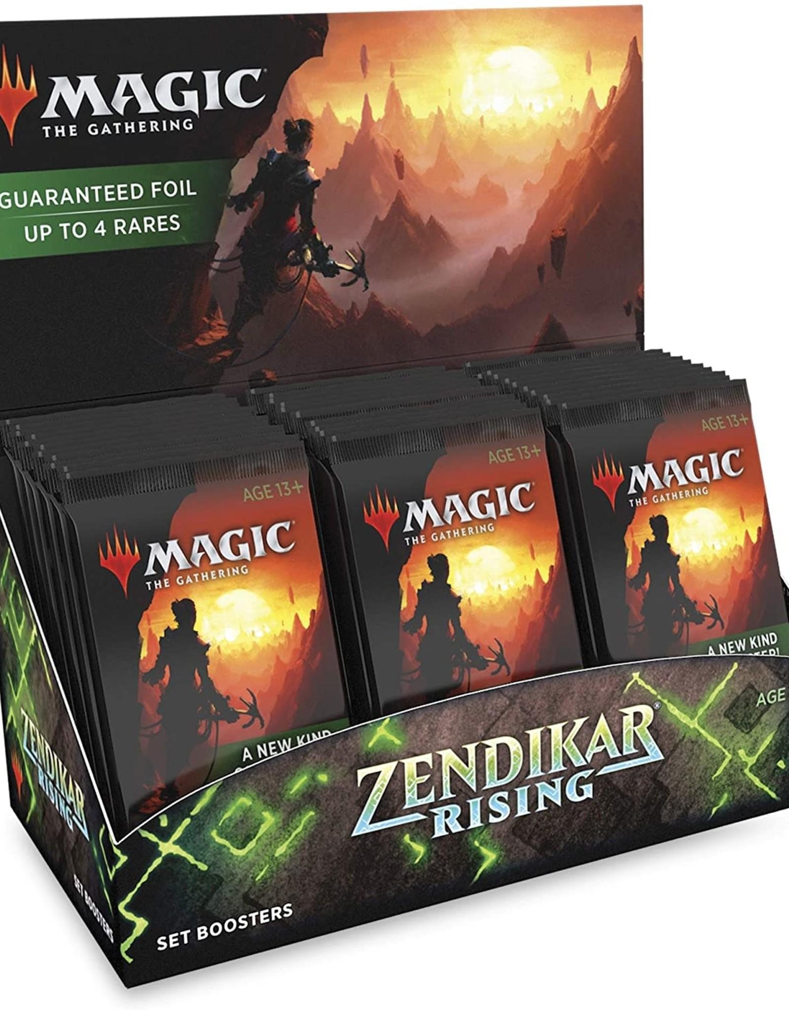 Wizards of the Coast Zendikar Rising Set Booster Display (30 packs)