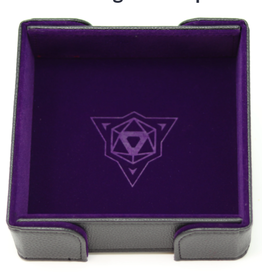 Die Hard Dice Magnetic Dice Tray: Square Purple