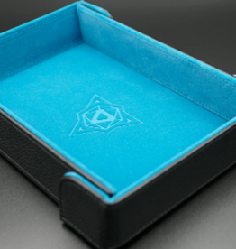 Die Hard Dice Magnetic Dice Tray: Rectangle Teal