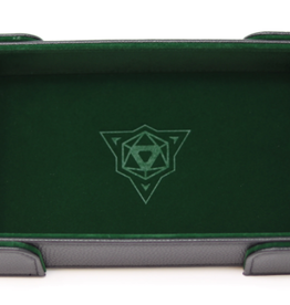 Die Hard Dice Magnetic Dice Tray: Rectangle Green