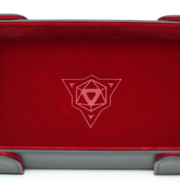 Die Hard Dice Magnetic Dice Tray: Rectangle Red
