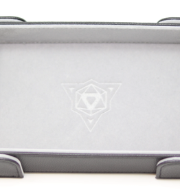 Die Hard Dice Magnetic Dice Tray: Rectangle Gray