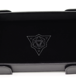 Die Hard Dice Magnetic Dice Tray: Rectangle Black