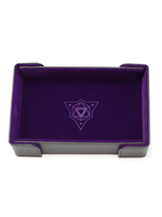 Die Hard Dice Magnetic Dice Tray: Rectangle Purple