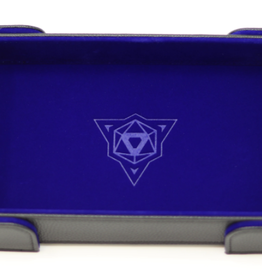 Die Hard Dice Magnetic Dice Tray: Rectangle Blue