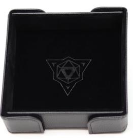Die Hard Dice Magnetic Dice Tray: Square Black