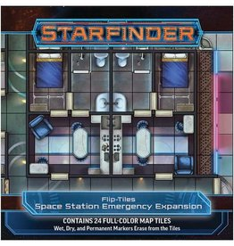 PAIZO Starfinder: Flip-Tiles: Space Station Emergency Exp