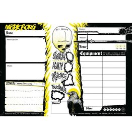 Free League Publishing Mork Borg: Character Sheet Pad