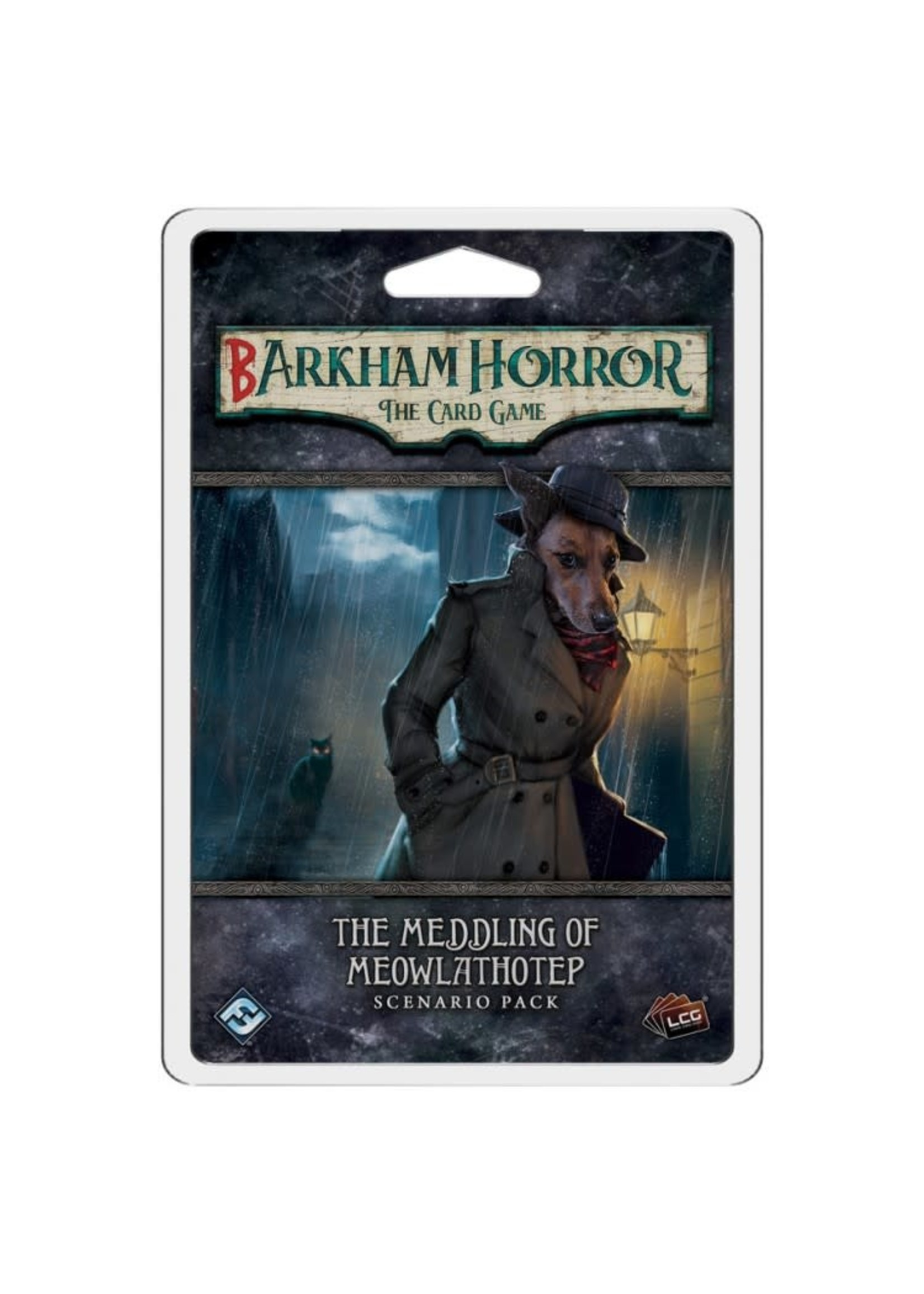 Fantasy Flight Games AH LCG: Barkham Horror: The Meddling of Meowlathotep