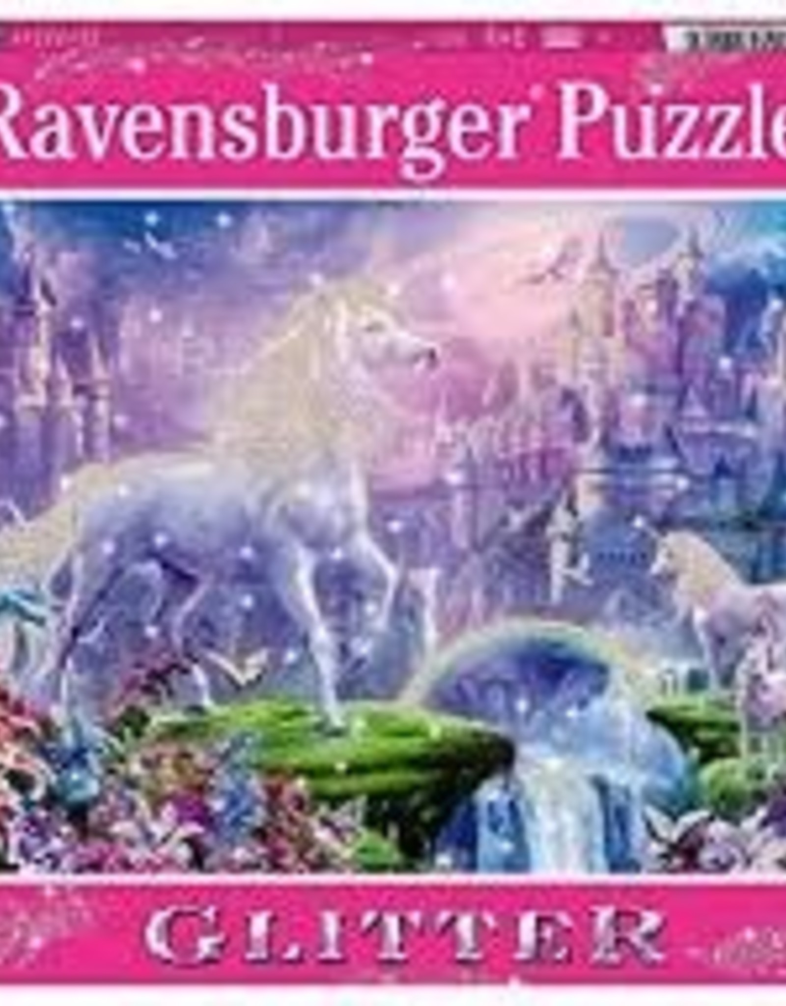 Ravensburger 100pc XXL puzzle Unicorn Glitter