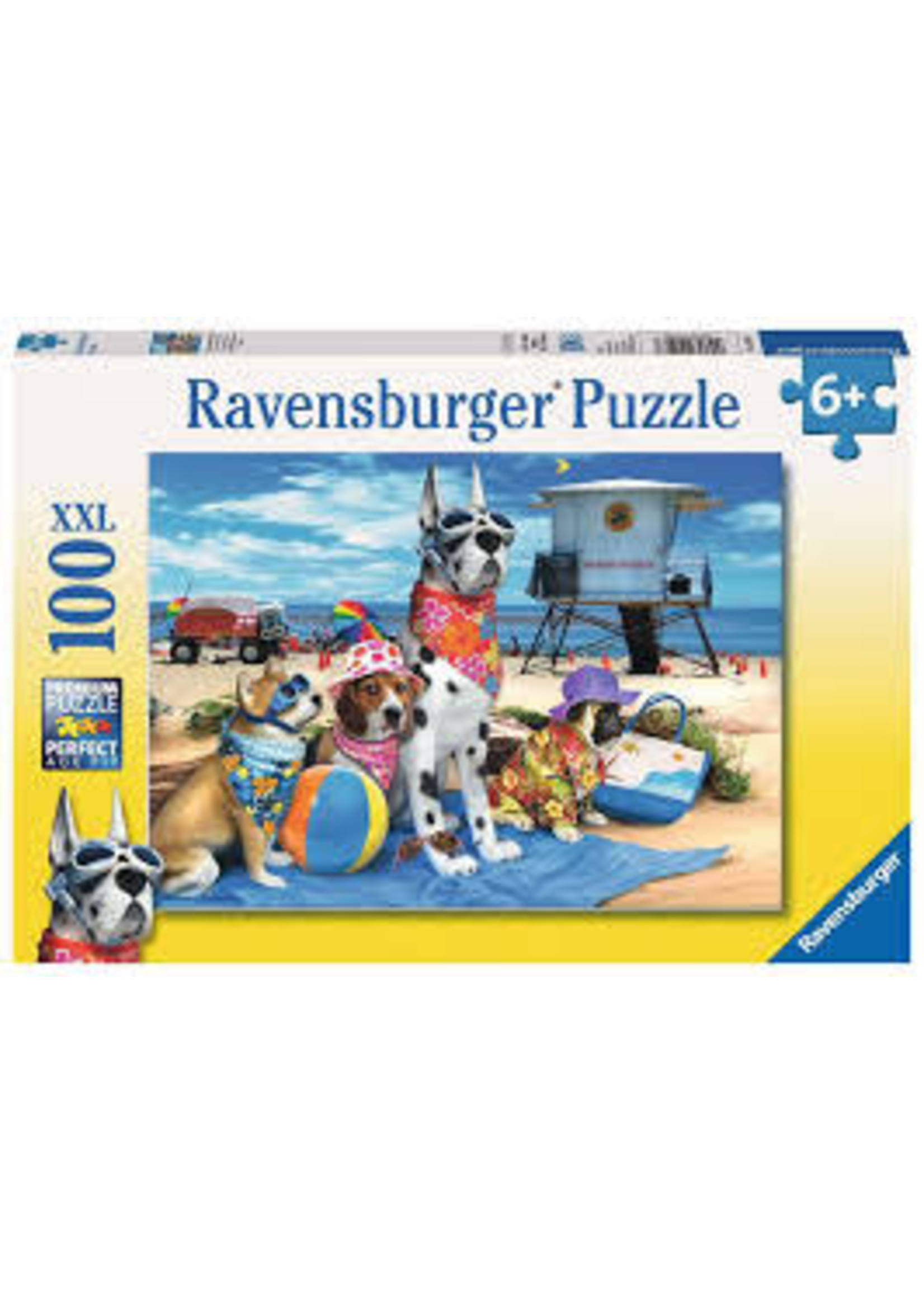 Ravensburger 100pc XXL puzzle No Dogs on the Beach