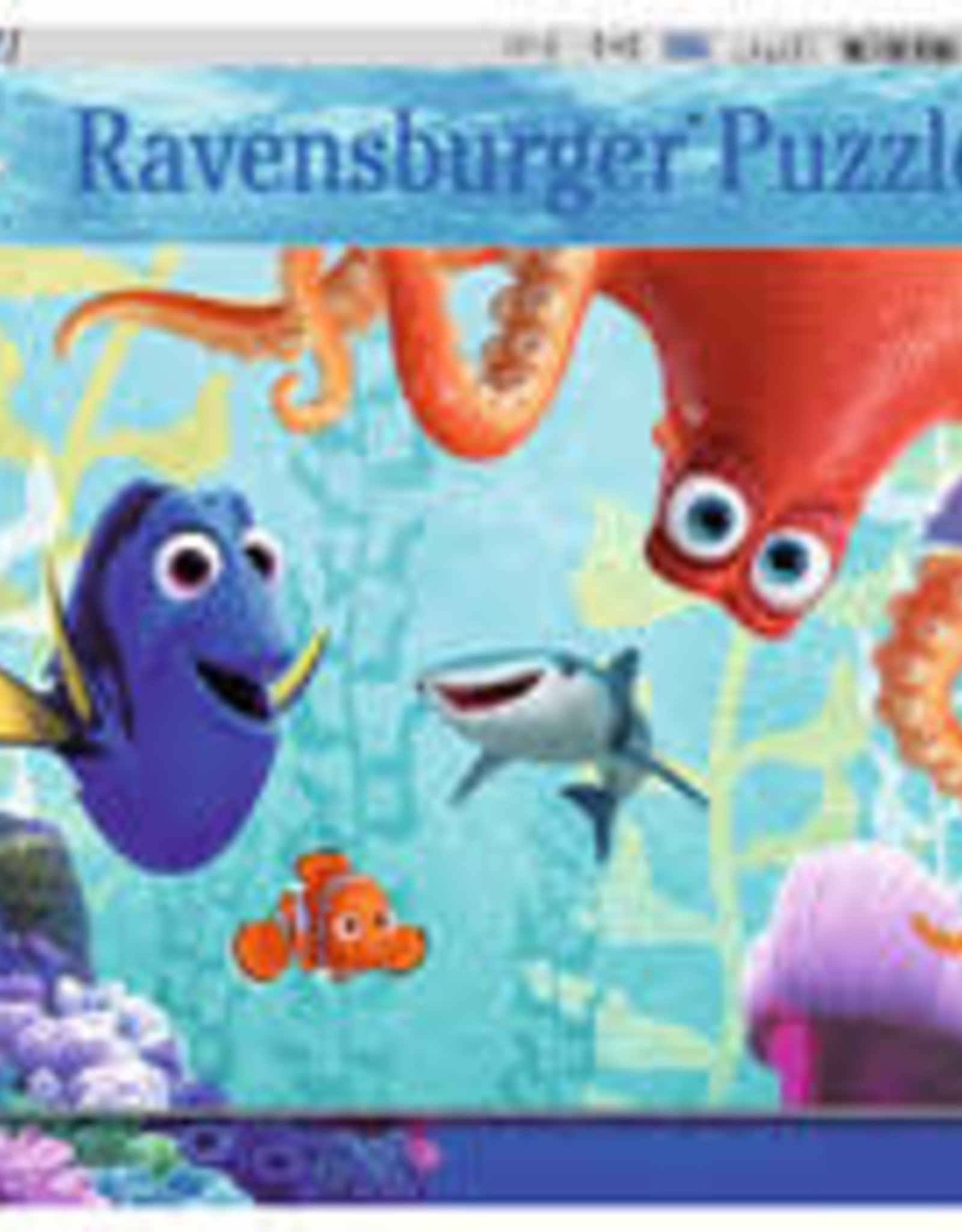 Ravensburger 100pc XXL puzzle Finding Dory (Glow in the Dark)