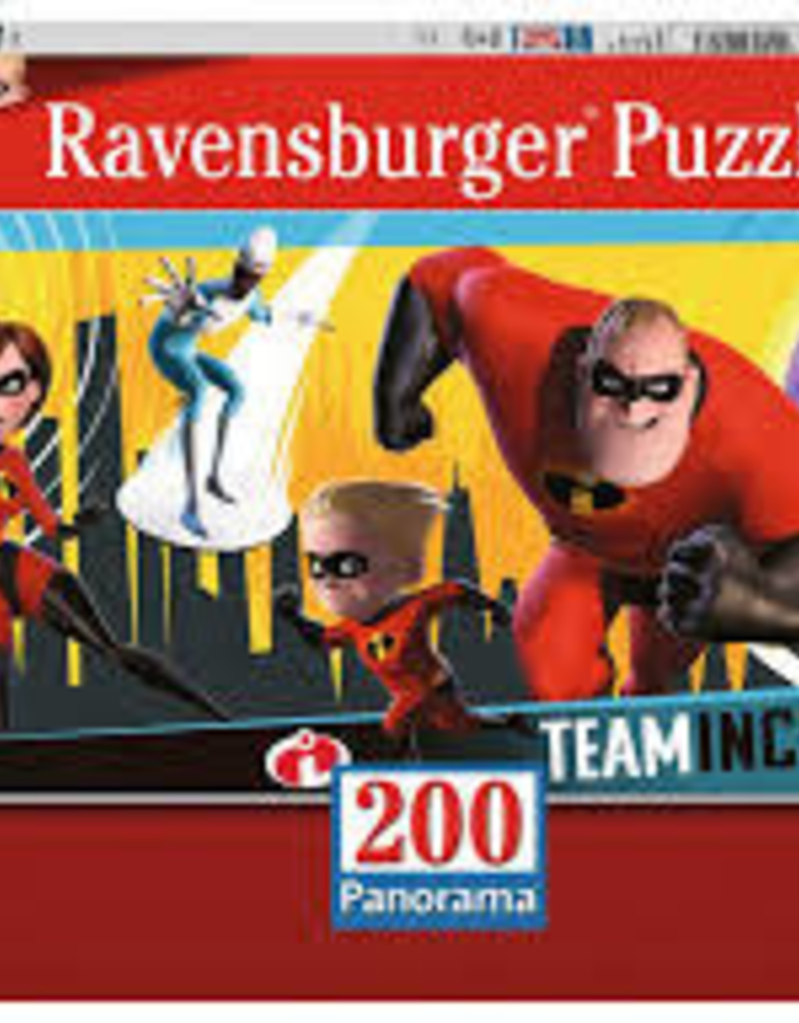 Ravensburger 200pc puzzle Incredibles 2
