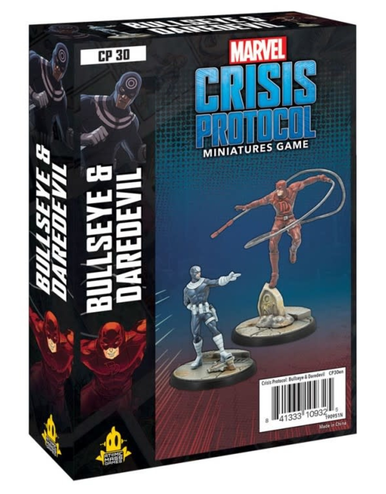 Atomic Mass Games Marvel CP: Bullseye & Daredevil