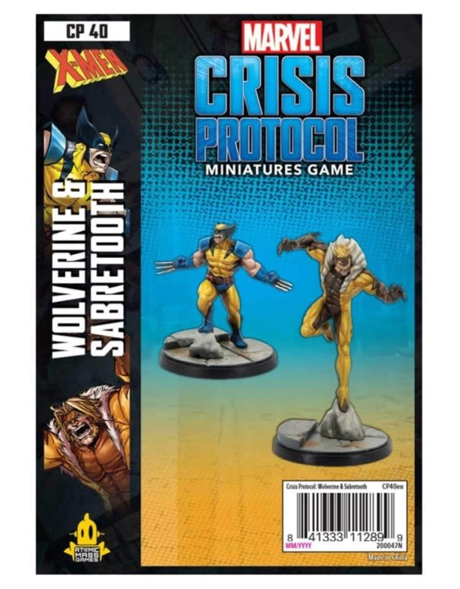 Atomic Mass Games Marvel CP: Wolverine and Sabertooth [preorder]