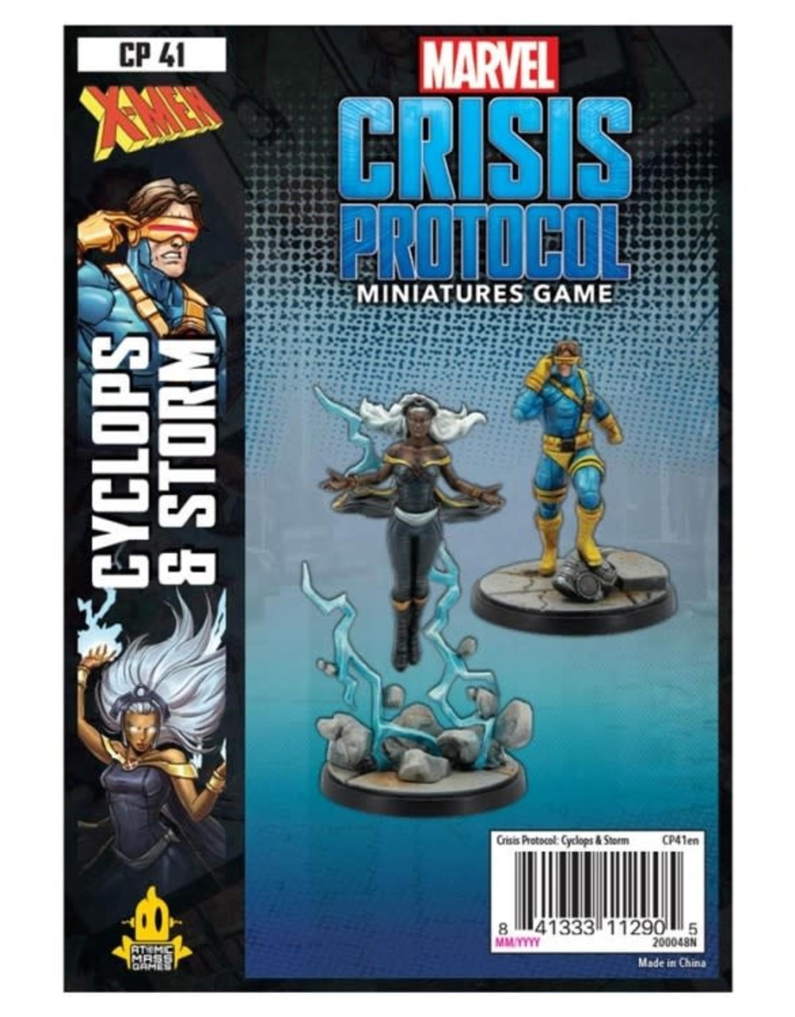 Atomic Mass Games Marvel CP: Storm & Cyclops