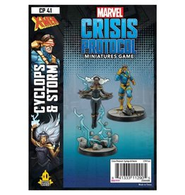 Atomic Mass Games Marvel CP: Storm & Cyclops