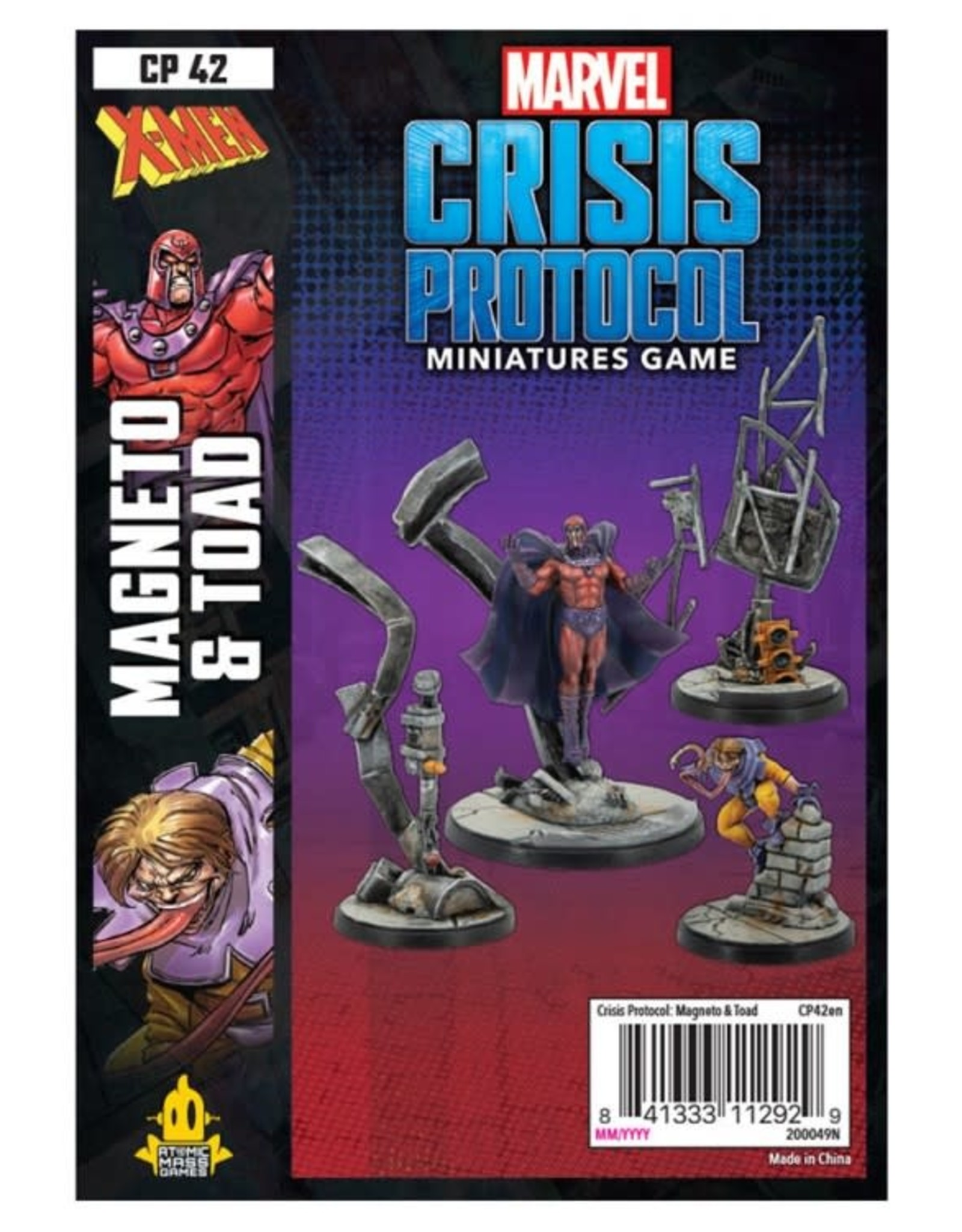 Atomic Mass Games Marvel CP: Magneto & Toad [preorder]