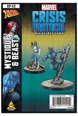Atomic Mass Games Marvel CP: Beast & Mystique