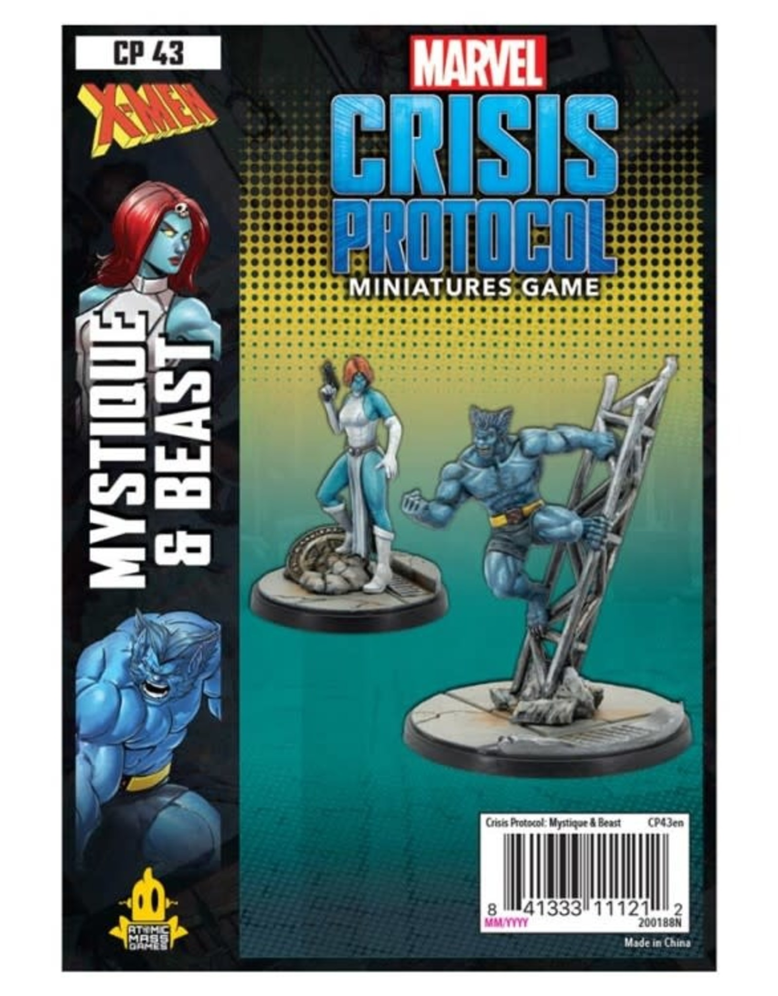 Atomic Mass Games Marvel CP: Beast & Mystique [preorder]