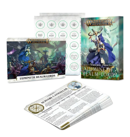 Games Workshop Warscroll Cards: Lumineth Realm-Lords [preorder]