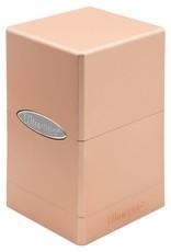 Ultra Pro Satin Tower Deck Box: Metallic Rose Gold [preorder]