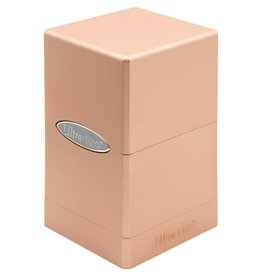 Ultra Pro Satin Tower Deck Box: Metallic Rose Gold [preorder]