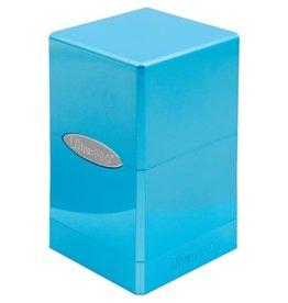 Ultra Pro Satin Tower Deck Box: Hi-Gloss Topaz