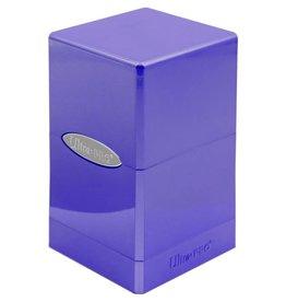 Ultra Pro Satin Tower Deck Box: Hi-Gloss Amethyst