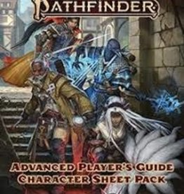 PAIZO Pathfinder 2E: Advanced Player's Guide Character Sheets