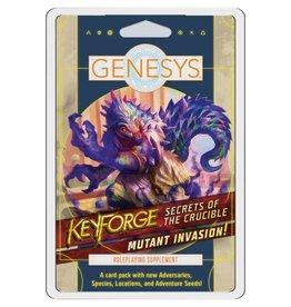 Fantasy Flight Games Genesys: SotC RPG: Mutant Invasion! Card Supplement