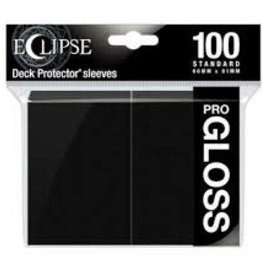 Ultra Pro Deck Protectors: Eclipse Gloss: Jet Black (100)