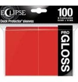 Ultra Pro Deck Protectors: Eclipse Gloss: Apple Red (100)