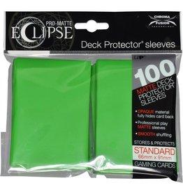 Ultra Pro Deck Protectors: PRO: Eclipse: Matte Lime Green (100)