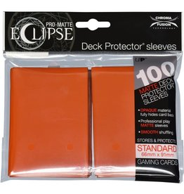 Ultra Pro Deck Protectors: PRO: Eclipse: Matte Pumpkin Orange  (100)