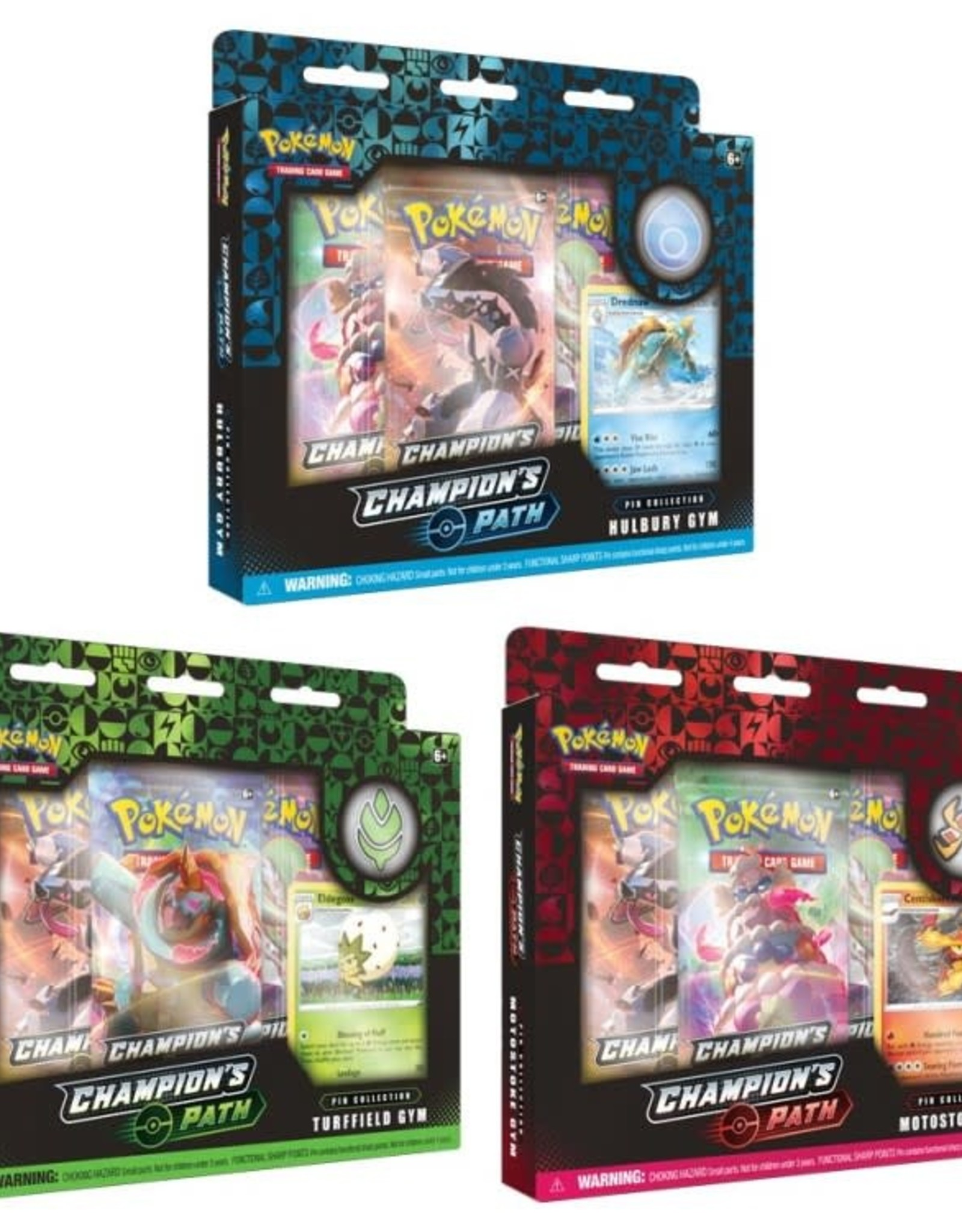 Pokemon Pokemon Champion's Path Pin Collection 1 (Various)