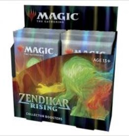 Wizards of the Coast Zendikar Rising Collector Booster Display (12 Boosters)