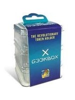 dV Giochi GeekBox Clear Plastic Token Storage Box w/ Lid (3 pack)