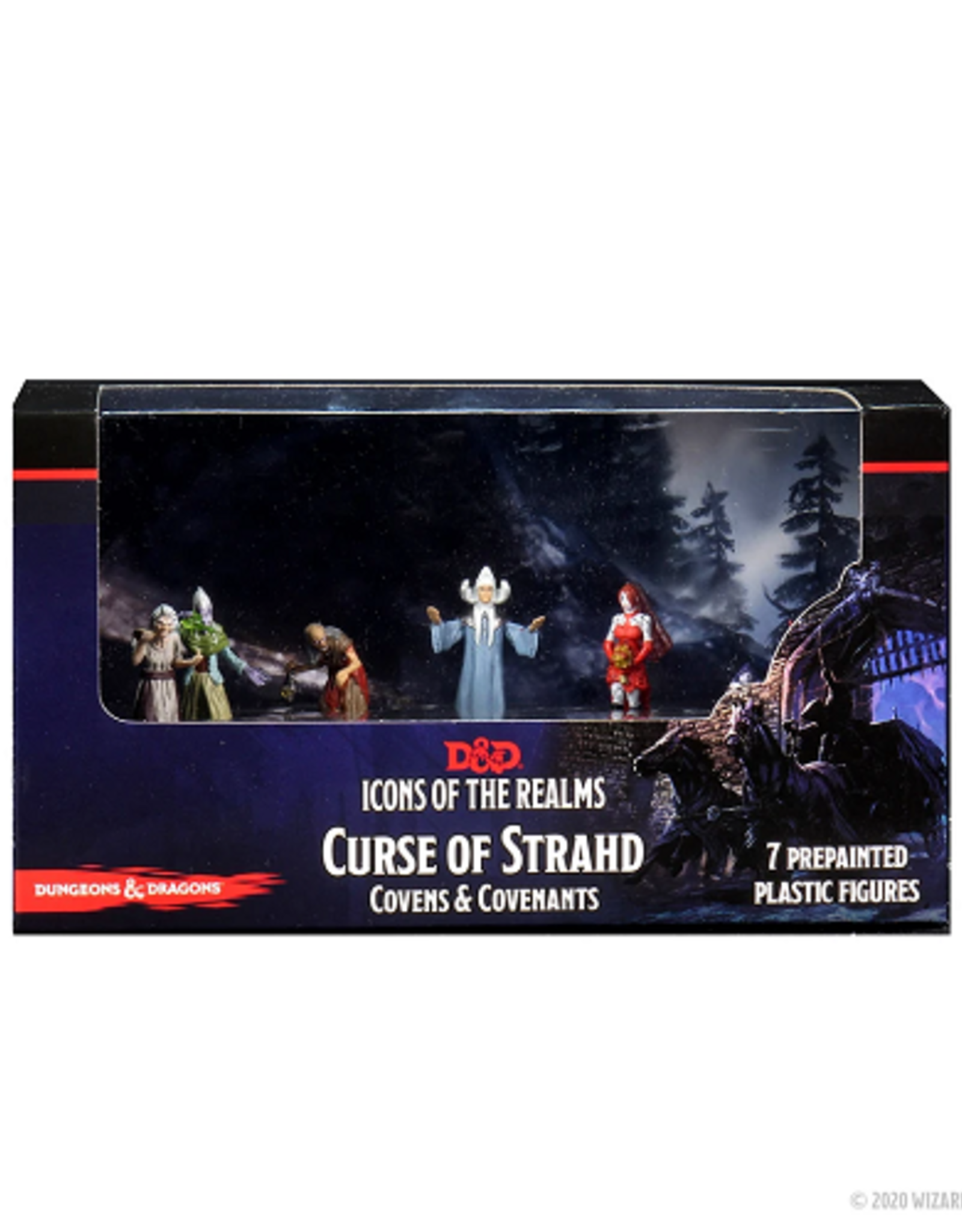 WizKids D&D Icons of the Realms: Curse of Strahd Covens & Covenants Premium Box Set