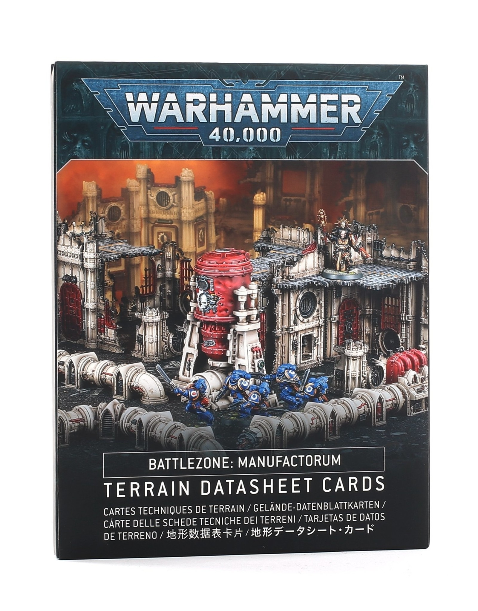 Games Workshop B/ZONE MANUFACTORUM DATASHEET CARDS ENG