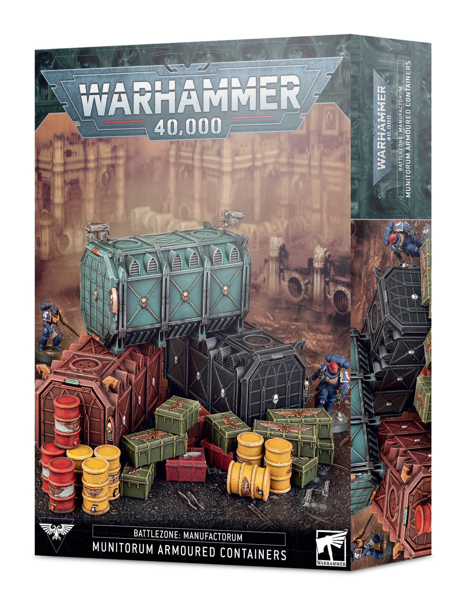 Games Workshop Battlezone: Manufactorum Munitorum Armoured Containers