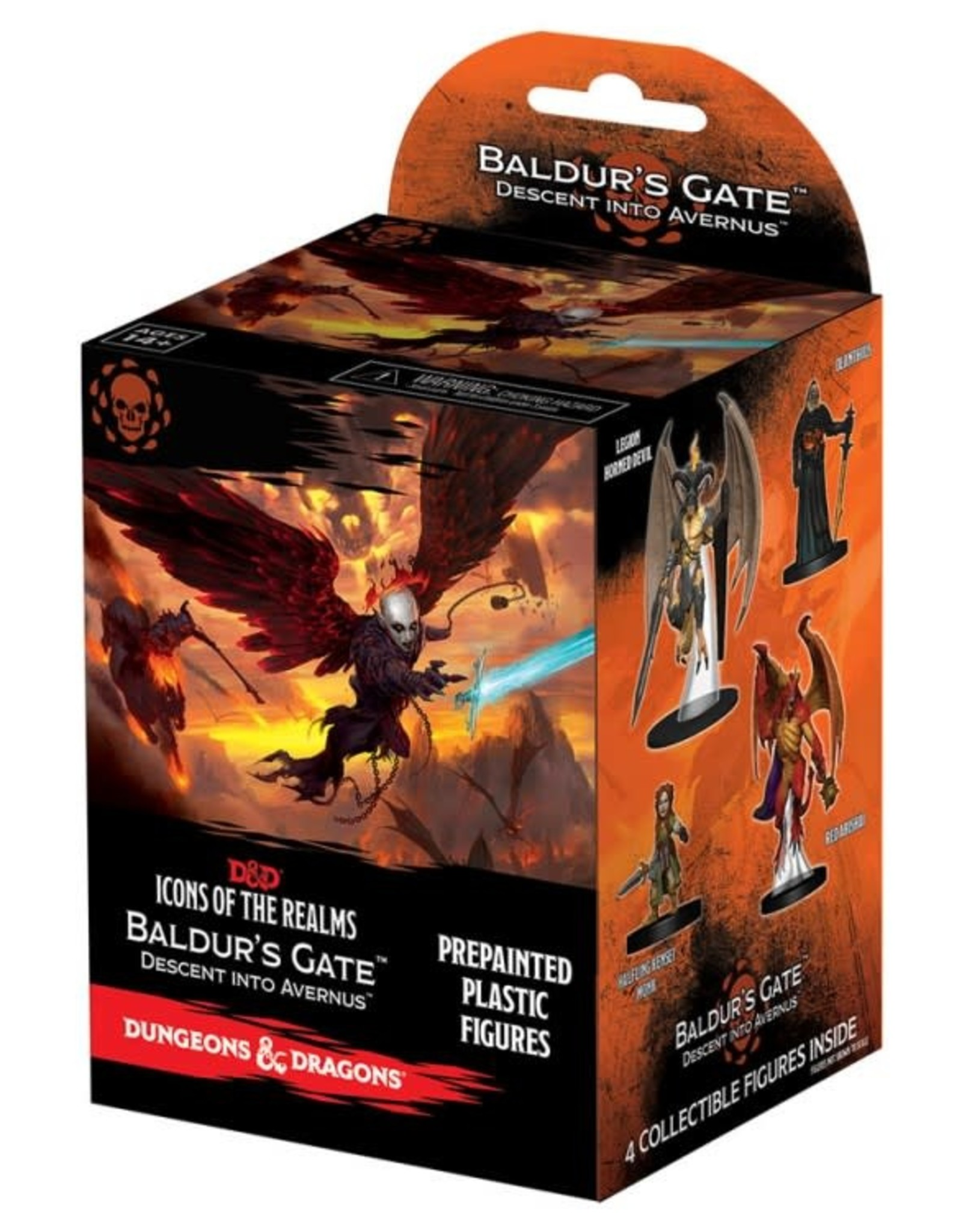 WizKids D&D Icons of the Realms: Baldur's Gate Blister Box
