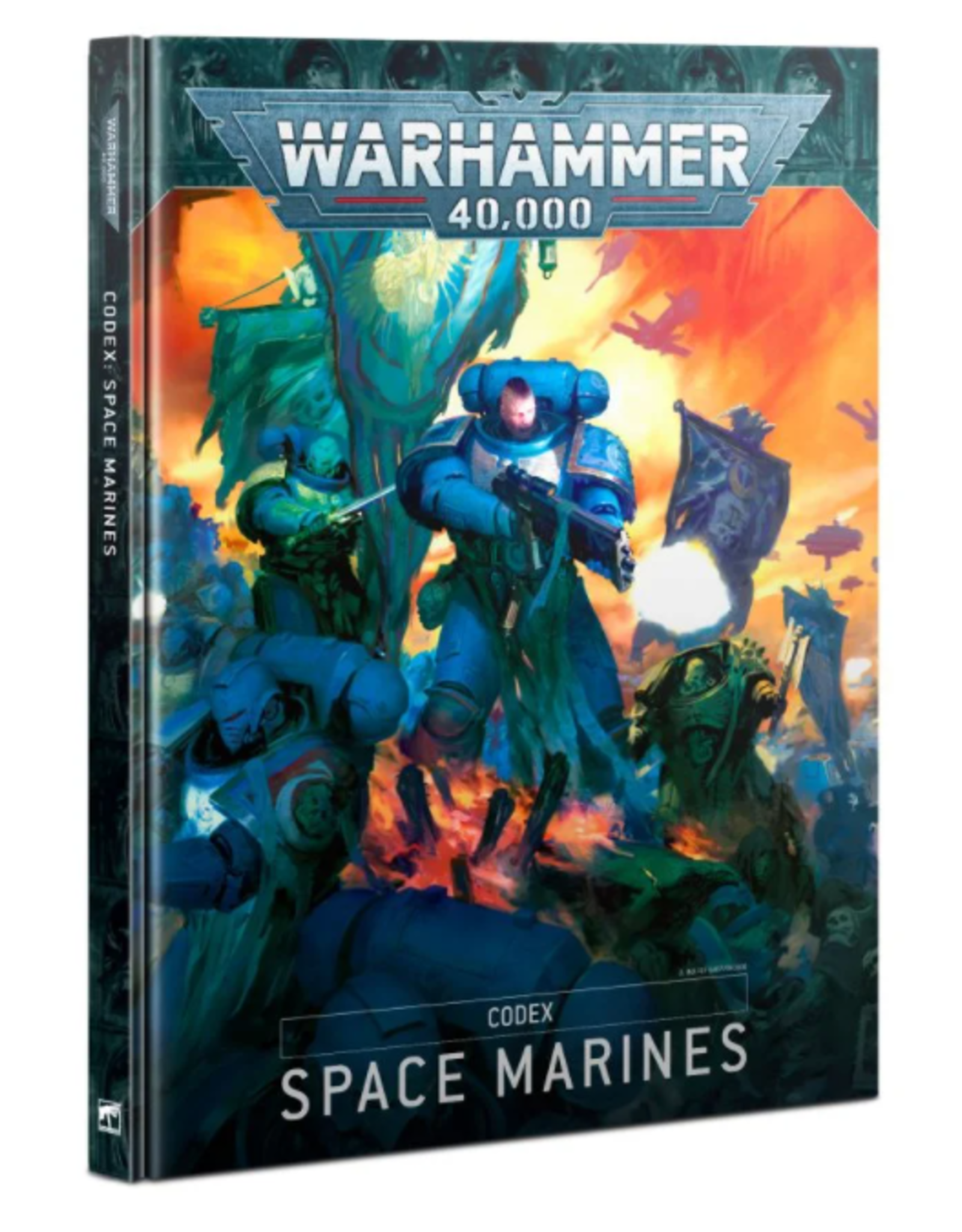 Games Workshop CODEX: SPACE MARINES (HB) (ENGLISH)