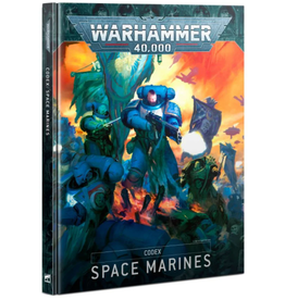 Games Workshop 9th edition CODEX: SPACE MARINES (HB) (ENGLISH)