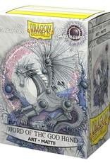 Arcane Tinmen Dragon Shield Art Matte: Word of the God Hand (100)