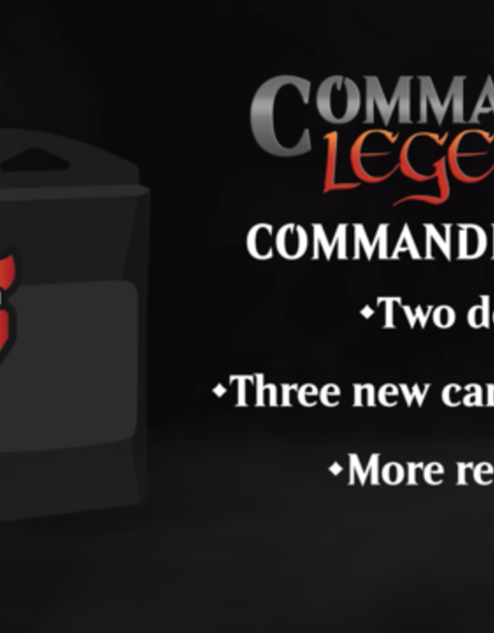Wizards of the Coast Commander Legends Commander Decks (2 decks, 1 of each) [Preorder]