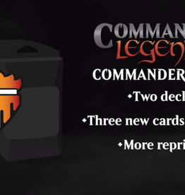 Wizards of the Coast Commander Legends Commander Decks (2 decks, 1 of each) [Preorder]