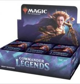 Wizards of the Coast Commander Legends Draft Booster Box [Preorder]