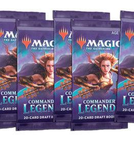 Wizards of the Coast Prerelease Online Commander Legends [6 Boosters]